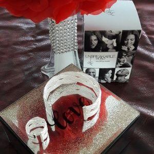 925 Bracelet and Ring Set